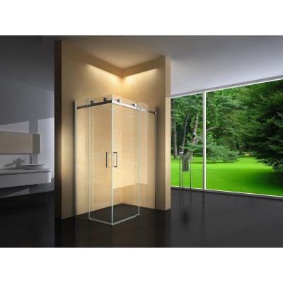 Douchecabine 100X90 Vierkant Vivo- Helder Glas - Links