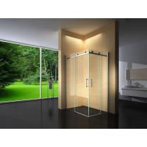 Douchecabine 120x100CM Vierkant Vivo- Helder Glas - Rechts