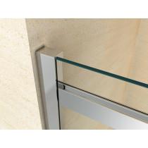 Douchecabine 120x80CM Rechthoekig Vita LB- Helder Glas
