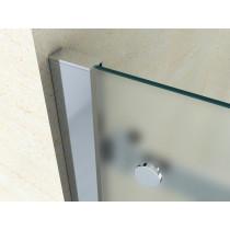 Douchecabine 120x90CM Rechthoekig Vita LB- Mat Glas. Rechts