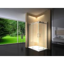 Douchecabine 120x90CM Vierkant Vivo LB- Helder Glas - Rechts