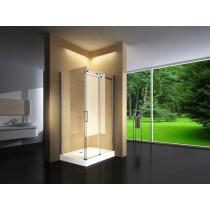 Douchecabine 120x80CM Rechthoekig Vita HB- Helder Glas