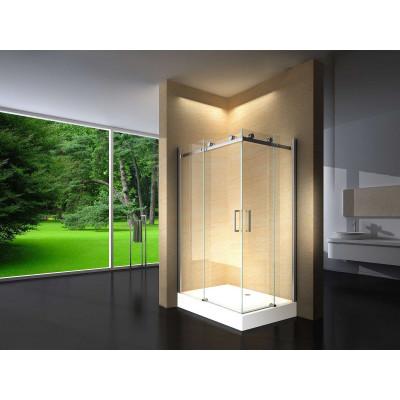 Douchecabine 120X90 Vierkant Vivo HB- Helder Glas - Links