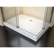 Douchecabine 120x90CM Vierkant Vivo HB- Helder Glas - Links