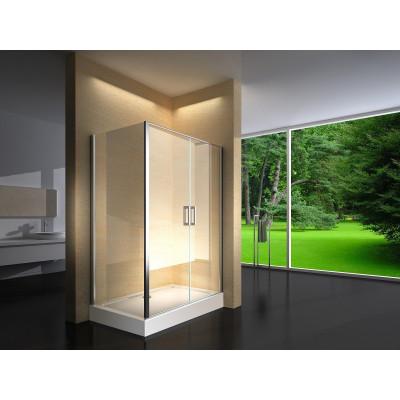 Douchecabine 120X80 Rechthoekig Argento HB- Helder Glas