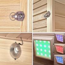 Infrarood Sauna Kalahari 150X150X200