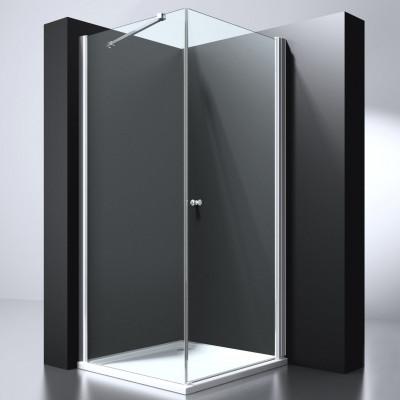 Douchecabine Vierkant 100X100 Ultra. Helder Glas