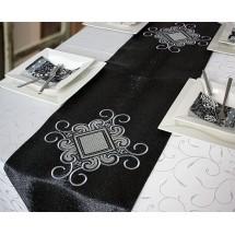 Tafelloper Zwart