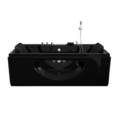 Whirlpool Bad Luxury Zwart 180X90X55CM