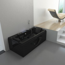 Jacuzzi Luxury Zwart 180x90x55cm