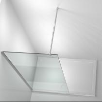 Inloop Douchewand 80 x 190 Ultra Mat - 6MM