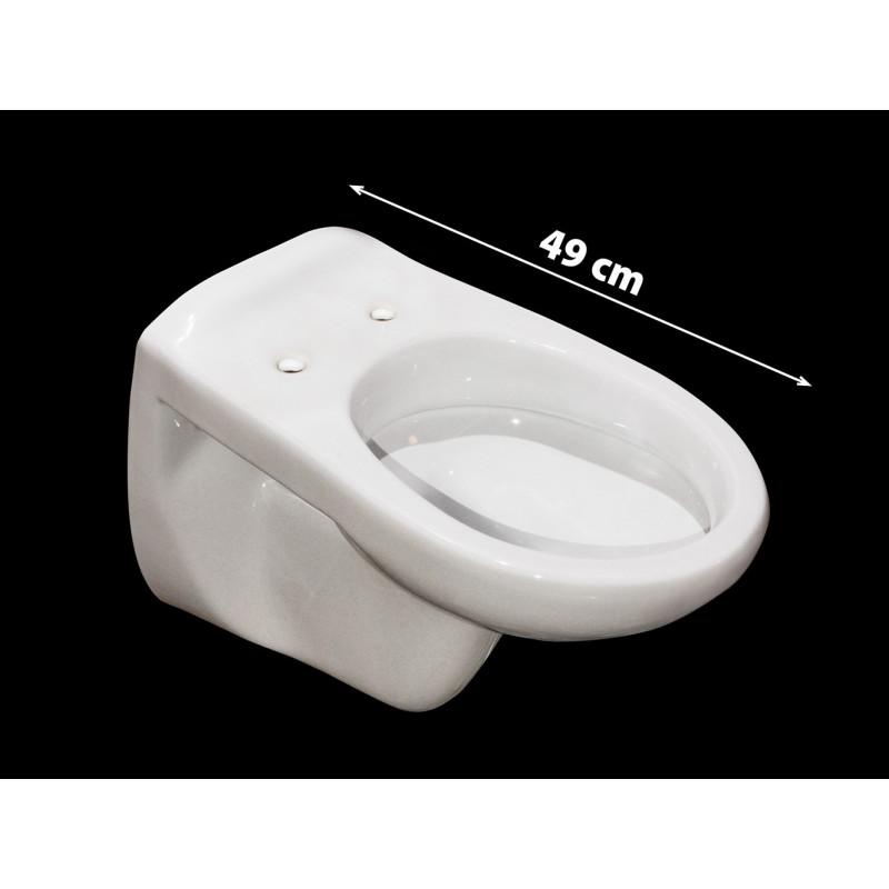 Wandcloset compact 49cm