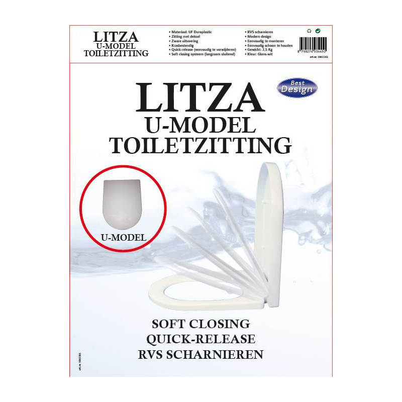 Litza Toiletzitting/bril