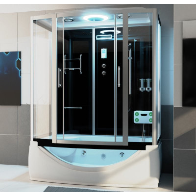 Bad Douche Whirlpool Stoom Combi 170X90 Dante