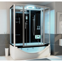 Bad Douche Whirlpool Bubbelbad Stoom Combinatie 170 X 90 X 220 CM Dante