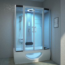 Douche- Bad Combinatie 135X80 Canto