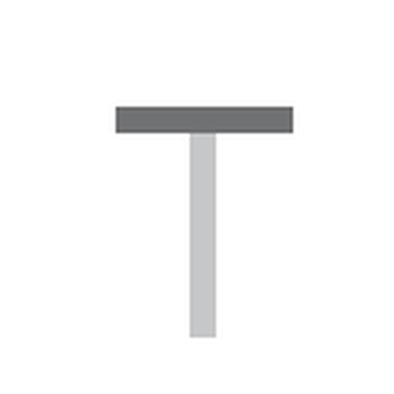 Waterdicht T strip 175cm