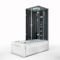 Douche- Bad Whirlpool Combinatie Helos-L 180x90x222CM