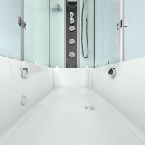 Douche- Bad Whirlpool Combinatie Silvus-L 180x90x222CM