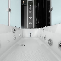 Douche- Bad Whirlpool Combinatie Helos-R 180x90x222CM