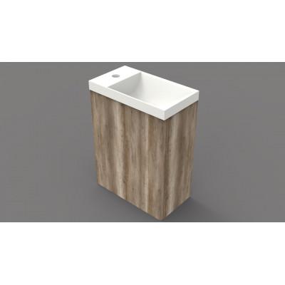 Toiletmeubel Canyon Oak 40x22cm