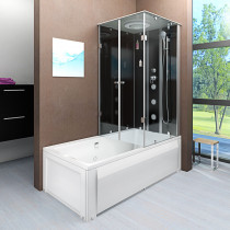 Douche- Bad Combinatie 180X90X222 Oslo-L