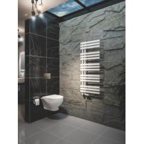 Design Handdoekradiator Hurley Mat Wit 120x50cm