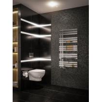 Design Handdoekradiator Hurley Chroom 120x60cm