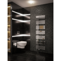 Design Handdoekradiator Hurley Chroom 180x60cm