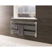 Design Handdoekradiator Wendover Chroom Horizontaal 60x30cm