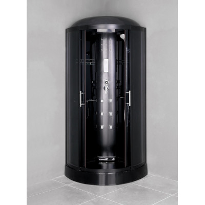 Douchecabine Black Pearl 100x100x220cm