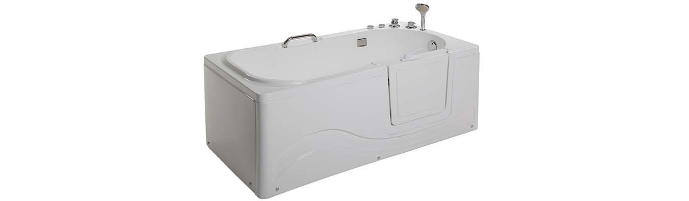 Instapbad kopen? Seniorenbad met deur | Euro Outlet Center