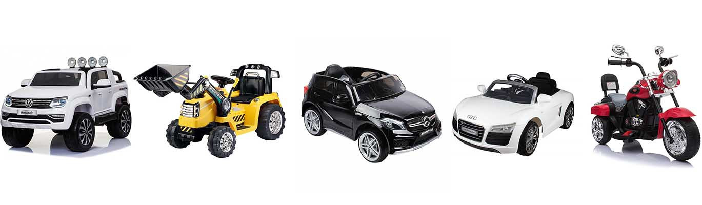 Elektrische Speelgoedauto's. Elektrische Kinderauto. Speelgoed Auto's
