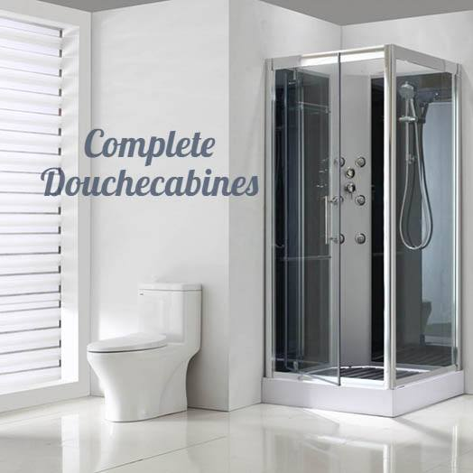 Complete shower cabins