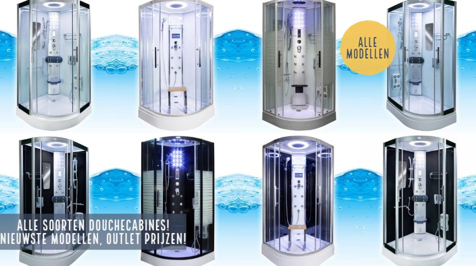 Badkamer & Sanitair Outlet - Euro Outlet Center - Complete Douchecabines
